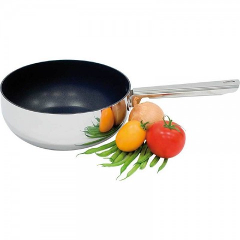 Rondel do sosów trzywarstwowy teflonowany d 220 mm