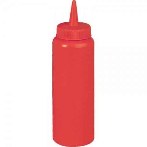 Dyspenser do sosów czerwony 0,35 l