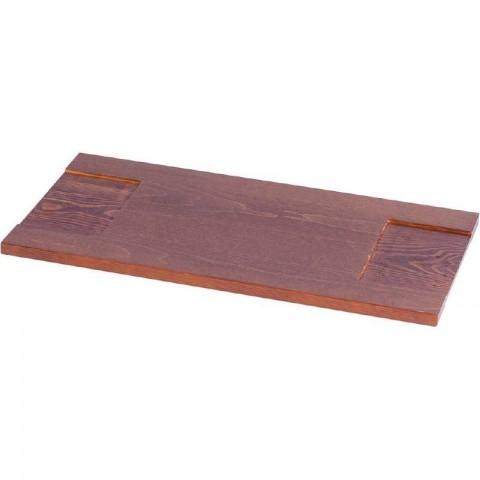 Półka drewniana 250 mm jasny brąz