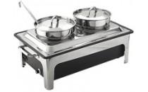 Podgrzewacz elektryczny z kociołkami do zupy [STALGAST]