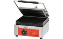 Kontakt grill pojedynczy ryflowany/gładki z powłoką polimerową