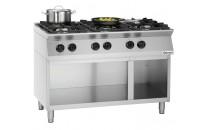 6-palnikowa kuchnia gazowa MFGO 7060 z podstawą otwartą