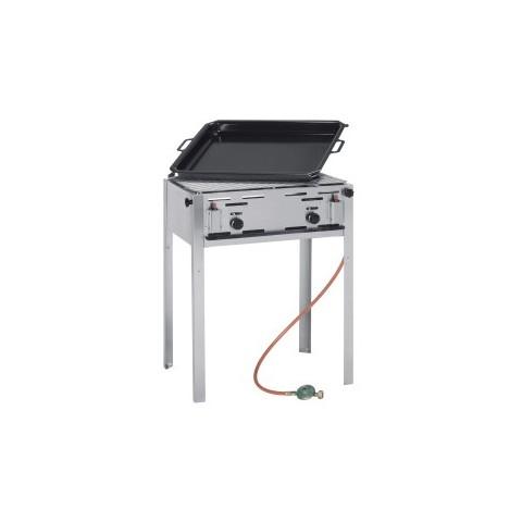Grill gazowy Grill Master Maxi GN2/1 - wolnostojący [HENDI]