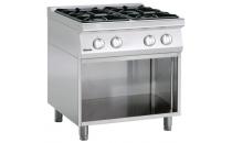 4-palnikowa kuchnia gazowa z otwartą podstawą