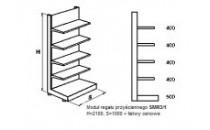 Moduł regału przyściennego SMR3/1 [SU5]