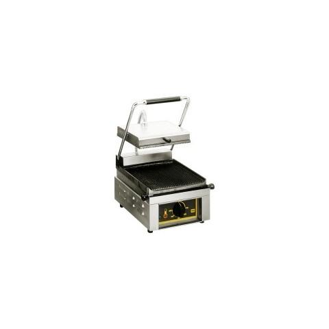 Kontakt grill pojedyńczy 2 kW [ROLLER GRILL]
