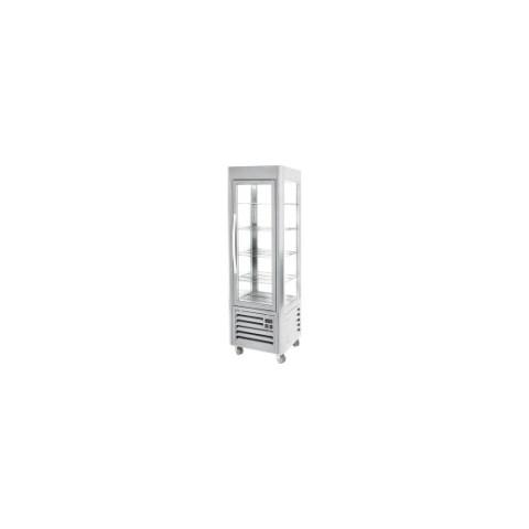 Witryna ekspozycyjna chłodnicza INOX 360l [STALGAST]