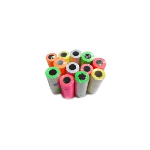 Metka falowana 26x16 kolor
