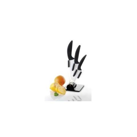 Zestaw noży ceramicznych RaptorCeramic ze stojakiem [RAPTOR]