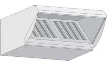 Okap wentylacyjny Rational typ 61 i 101 wersja gazowa
