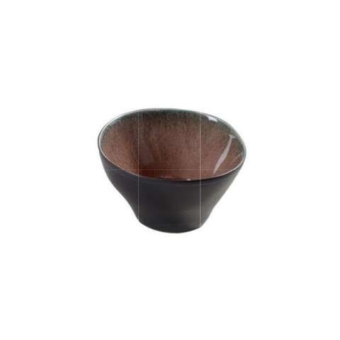 PURE brązowy miska 7.5X4.5cm 4/32