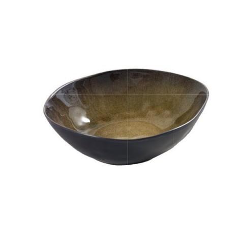 PURE zielona miska 20x17x5.5cm 2/8