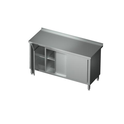 Stół-szafka drzwi suwane z szafką 0444 EKO 1200x600x850mm