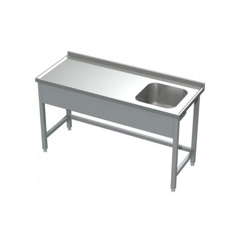 Stół ze zlewem 0500  EKO 600x600x850mm