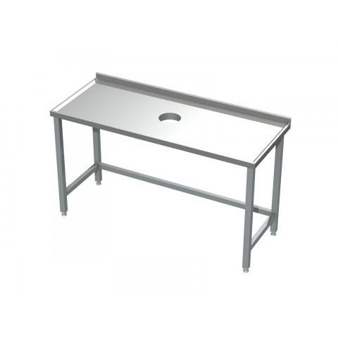 Stół z otworem na odpadki 0511  EKO 600x600x850mm