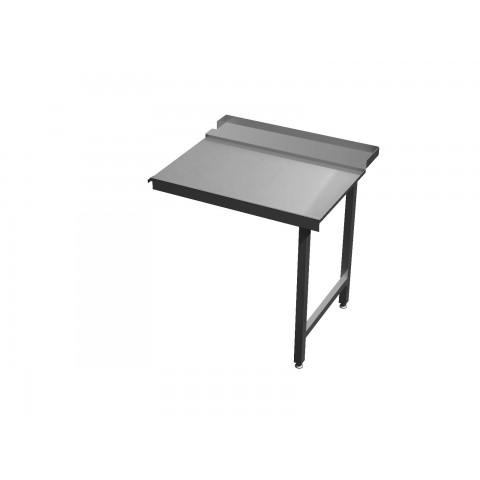 Stół wyładowczy na dwóch nogach 0565 EKO 700x700x850mm