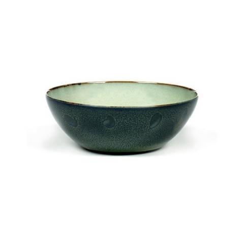 TERRES DE REVES misty grey/dark blue miska L 18.4cm 4/24