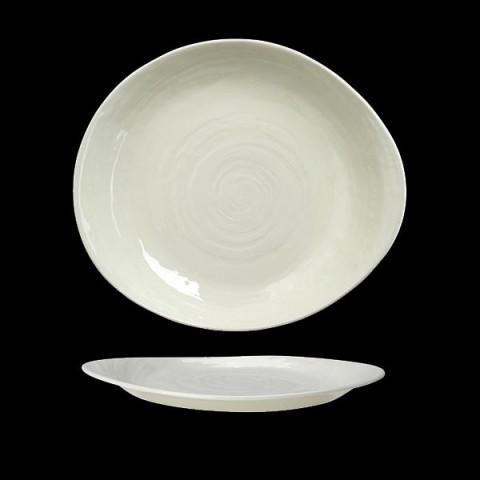 SCAPE talerz 25cm biały