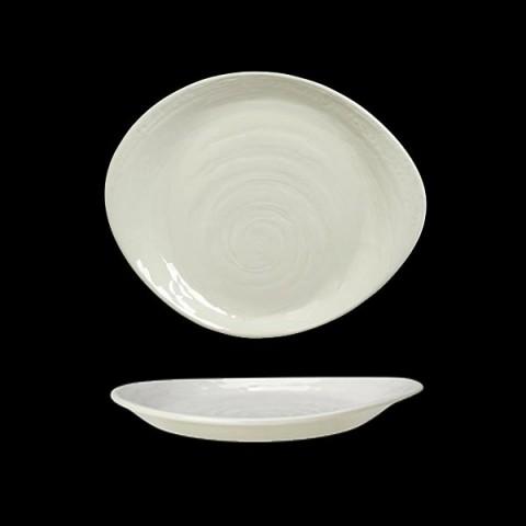 SCAPE talerz 15.5cm biały
