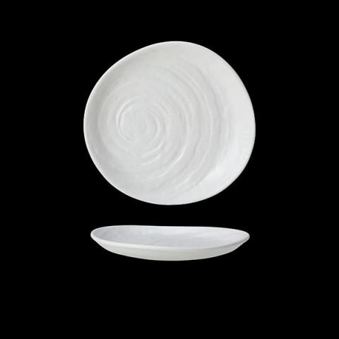 SCAPE Melamina talerz 16.5cm biały /6