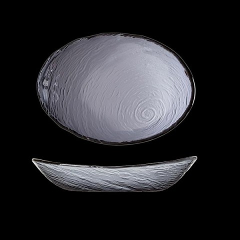 SCAPE Glass miska 30cm dymny /6