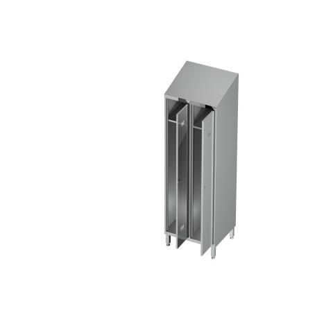 Szafa ubraniowa 2-drzwiowa 0618 EKO 800x500x1800mm
