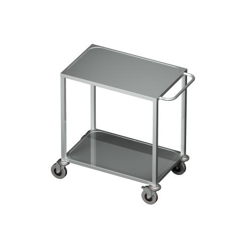 Wózek transportowy 2 półkowy 0701/2 EKO 800x500x850mm