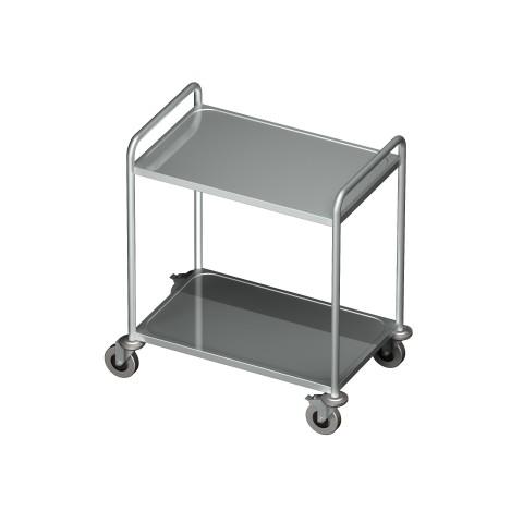 Wózek kelnerski 2 półkowy 0705/2 EKO 800x500x950mm