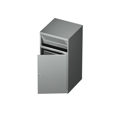 Kosz na śmieci z pojemnikiem 0716 EKO 600x600x1200mm