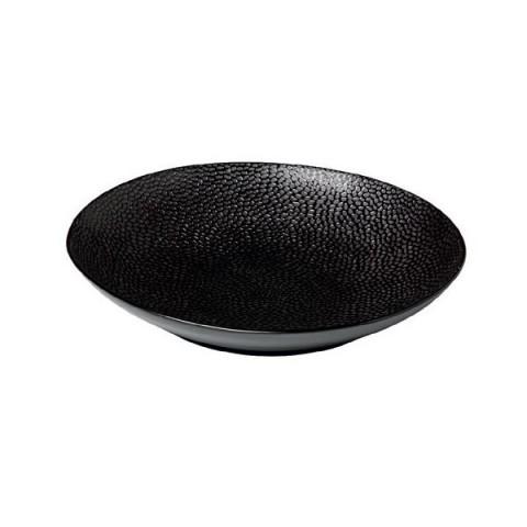 HONEY COMB talerz na paste 25.5cm czarny /3