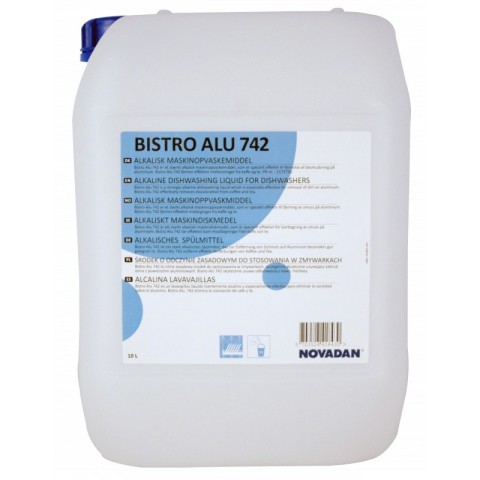 Płyn myjący alkaliczny do zmywarek BISTRO ALU 742 20L
