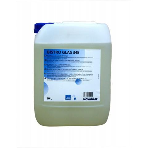 Płyn myjący alkaliczny do zmywarek BISTRO GLAS 345 10L