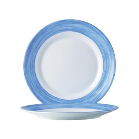BRUSH talerz deserowy niebieski 195mm /6/24