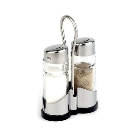 ECONOMIC przyprawnik 2 elementowy sól/pieprz