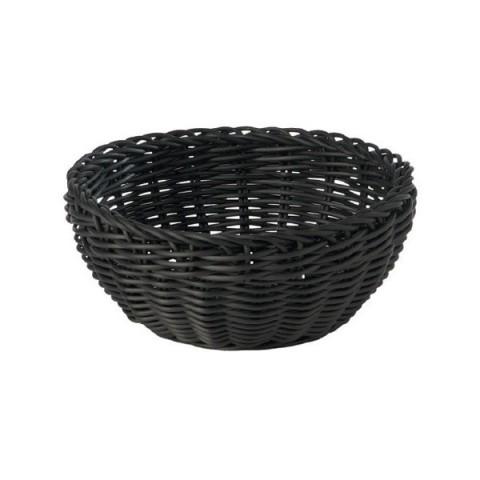 PROFI LINE koszyk 20x8cm okrągły czarny