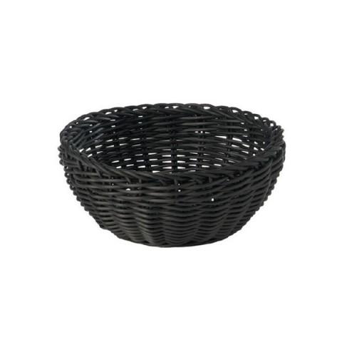 PROFI LINE koszyk okrągły 16cm czarny polipropylen