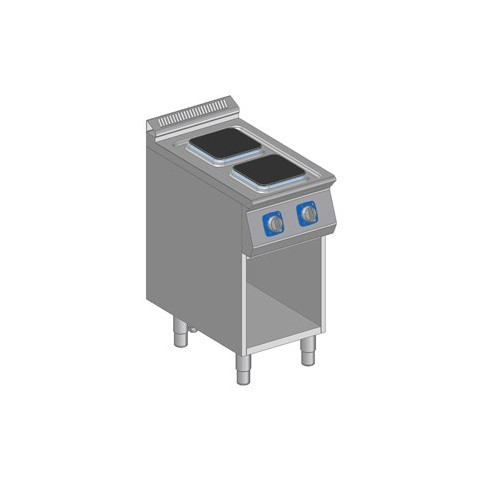 Kuchnia elektryczna 2 płytowa z szafką