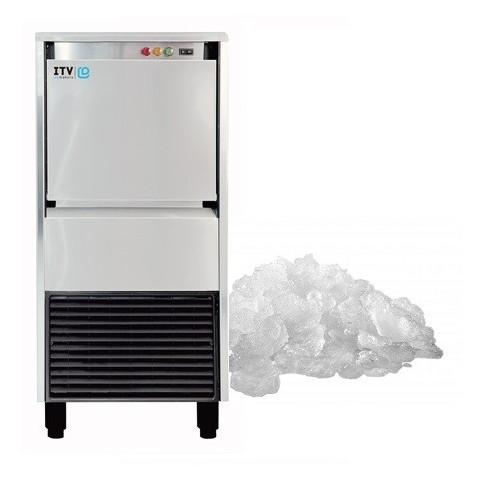 Łuskarka do lodu 50 kg/dobę, chł. wodą