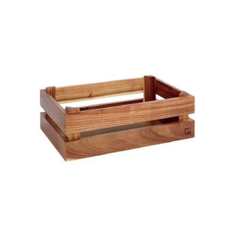 SUPER BOX  pojemnik drewniany akacja GN1/4