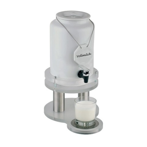 TOP FRESH dyspenser do mleka 5L z chłodzeniem porcelana