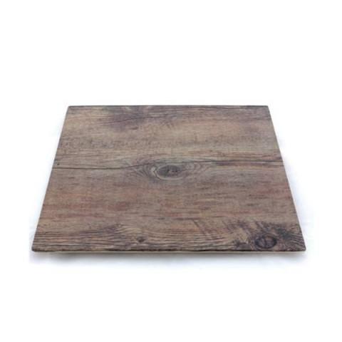DRIFTWOOD płyta kwadratowa 25.4x1.5cm