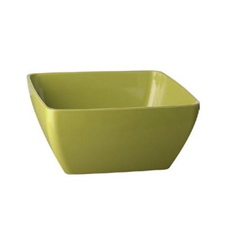 PURE miska kwadratowa 0.4 litra zielona