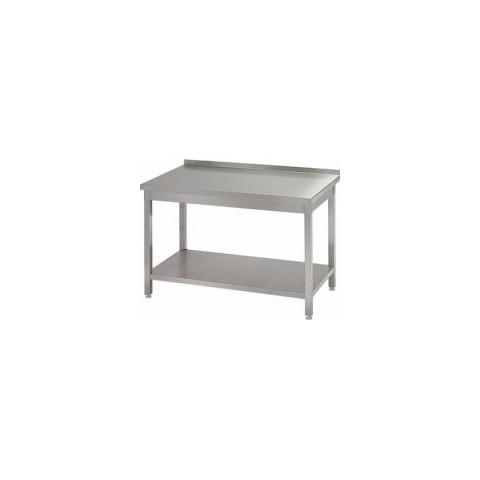 Stół przyścienny z półką 1400 x 700 x 850mm [STALGAST]