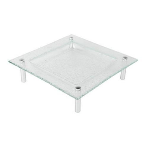 Talerz szklany 53x53cm