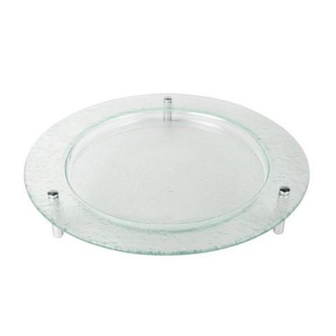 Talerz szklany okrągły 46cm