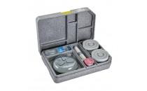 CAMBRO taca termiczna GoBox 37x53x11.8cm talerz + 2 miski + pokrywki