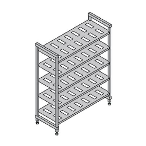 CAMBRO BASIC regał wentylowany 5 półek 54x154x183cm