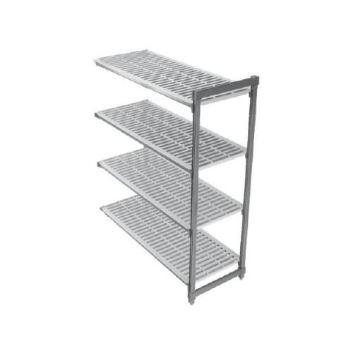 CAMBRO BASIC regał dodatkowy 4 półki 61x122x183cm