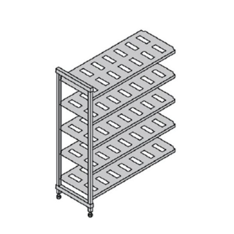 CAMBRO BASIC regał dodatkowy 5 półek 54x91x183cm